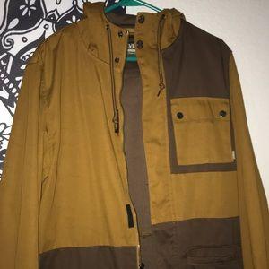 Druvas brown winter coat